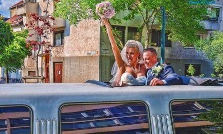 Milyen érzés limuzinnal érkezni az esküvődre?